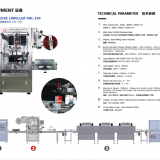 XINHUA sleeve labeling machine for cup