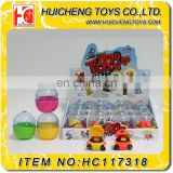 Cute firemen cheap small wind up toys Eco-friendly ABS plastic promotion capsule toys for kids EN71 6P CE