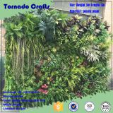 Tornado crafts Wholesale alibaba home decor plastic vertical green wall system customized different types of green wall