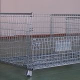4.8-10mm Welding Metal Stackable Storage Wire Mesh Containers