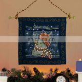 LED Lighted Handmade Silk Tapestry for Sale