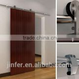 Stainless Steel Modern Wood Sliding Barn Doors New Rail Track SD0215500