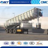 U-Shape Heavy duty dump tipper semi truck trailer on sales