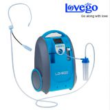 Lovego LG101 portable oxygen concentrator 1-5LPM 40-93% purity for COPD, Ages ect