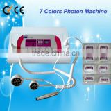 High quality 7 color ion photon ultrasonic skin care beauty salon machine for sale au-8307