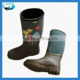women rubber rain boots ladies fashion rubber rain boot