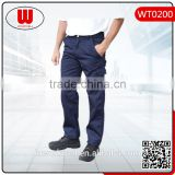 Mens pants cotton cargo trousers multi-pocket pants
