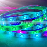 Waterproof DC5V 30LEDs/m 5m/lot Flexible LED Light RGB 5050 LED Strip