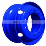 22.5 truck rims China steel wheel