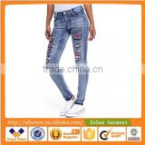 China Clothing Manufacturer Jeans Wholesale Price For Women