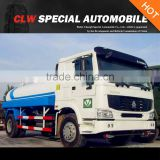 HOWO 4*2 5 Tons 5000L water tank sprinkling truck for sales