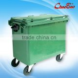 660L Outdoor Garbage Cart / Garbage Truck (Big Capacity)