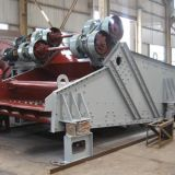 Arthropod dewatering sculping vibrating screen