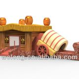 new inflatable house games for kiddy indoor playground