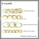 fashion aluminum chains