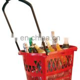 METO Rolling Shopping Basket