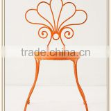Hot sale new design wrought iron chairs