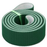 5mm Rough Top Green PVC Conveyor Belting For Incline Conveying Loading PB-G50/D