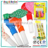Wholesale Kids Ballon With Plastic Whistle For Party Favors