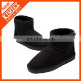 2014 classical ankle black winter wool snow boots