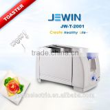 Cold touch stainless steel inner oven bread toaster