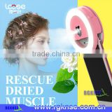 Lcose 2017 selfie ring light led rechargeable with mist sprayer