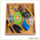 Space Saving Bamboo Drawer and Cabinet Organizer/Homex_BSCI