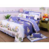 Winnie the Pooh <b>Kids</b> Bed Sets Cotton Fabric <b>Quilt</b> Cover Bed Sets
