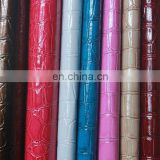 printed synthetic PVC leather for girls luggage girls bag shoes etc