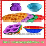 Flexible kitchen accessories silicone tong utensils
