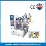 ZPZD-1200T Stand-up pouch liquid filling and capping machine