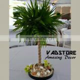 VADP03 mini artificial palm tree l beach themed wedding decor table centerpiece tree