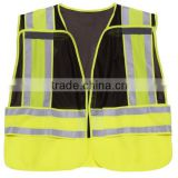 201606230940 high visibility red coffee Vest Security reflective