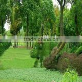 China garden decoration wire animals decorative artificial grass