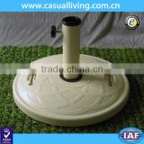 New design hot Outdoor Round Resin Umbrella Base/beach umbrella Patio umbrella