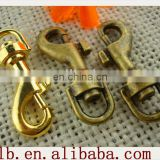 2013 hot sale wholesale silver/brass/gold stainless steel safety snap hook