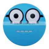 4400mah Smiling face power bank with CE FCC ROHS Certificate Walmart supplier