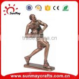 basketball player figurine for souvenir sports trophy