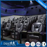 Wholesale microfiber leather cinema sofa,power recliner cinema seats made in China