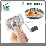 Plastic Rotary Cheese Grater White and Stainless Steel                                                                         Quality Choice