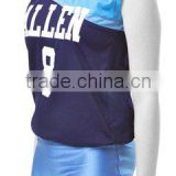 Blue Color Volley Ball Women Uniforms