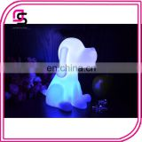 Hot selling PVC battery 3d led lamp night light cartoon cute dog night lights