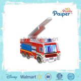 Education paper <b>model</b> <b>mini</b> toys <b>car</b> <b>model</b> toy