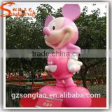 Factory Price Life Size Rasin Minnie Mouse Statue Mold for Sale