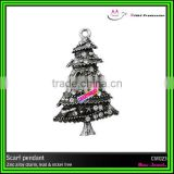 2016 christmas tree ornament of scarf charm
