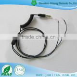 Extremely Flexible Coiled Cable Slingshot line Spring Spiral Coiled Cable Enameled Wire Stereo Coiled Cable