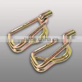 "1.5"" swan hook, double J hook, cargo lashing hook"