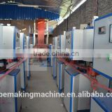Vertical type plastic PP PE tear split film winding machine for rope