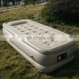 inflatable air bed with automatically control pump