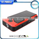 Emergency Tools Car Jump Starter 12000mah Power Bank 12 V Battery Charger Case with LED Flahslight